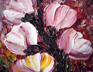 Detail Image for art SWEET MAGNOLIA FLOWERS