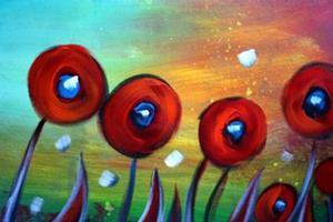 Detail Image for art MORNING POPPIES
