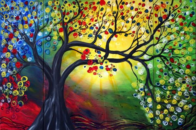 Art: HAPPY LIFE-sold by Artist LUIZA VIZOLI