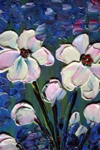 Detail Image for art LIGHT PINK FLOWERS
