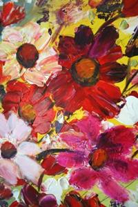 Detail Image for art HAPPY FLOWERS- 36