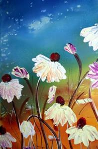 Detail Image for art FRESH FLOWERS in the OCEAN BREEZE
