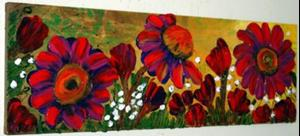 Detail Image for art RED GARDEN