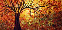Art: AUTUMN SPLENDOR -sold by Artist LUIZA VIZOLI