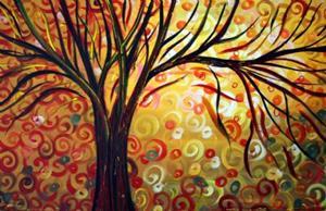Detail Image for art AUTUMN SPLENDOR -sold
