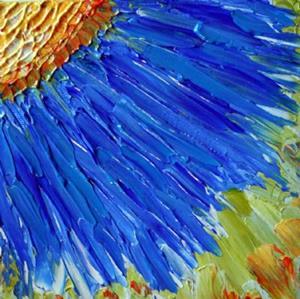 Detail Image for art MAGIC BLUE FLOWER