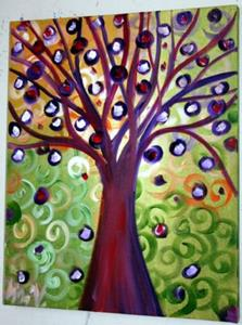 Detail Image for art Wishing Tree-Fantasy Landscape