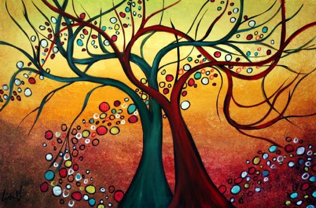 Art: LOVE SONG by Artist LUIZA VIZOLI