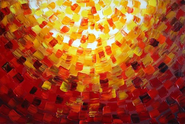 Art: CITY of LIGHT SOLD by Artist LUIZA VIZOLI