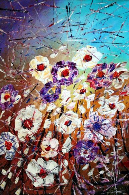 Art: SUMMER REFLECTION by Artist LUIZA VIZOLI
