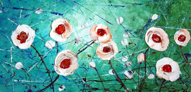 Art: FRESH FLOWERS by Artist LUIZA VIZOLI