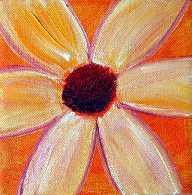 Art: YELLOW FLOWER by Artist LUIZA VIZOLI