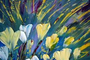 Detail Image for art FLOWERS DANCE