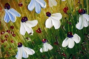 Detail Image for art FLOWERS RAIN