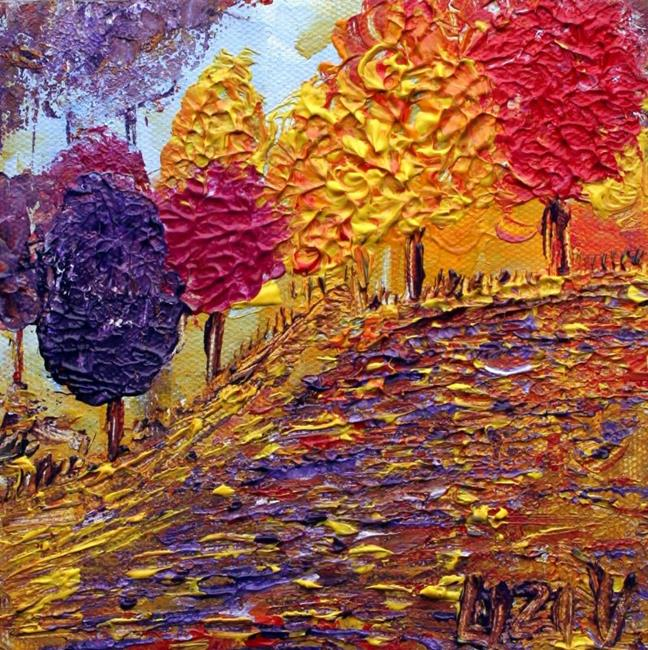 Art: COLORFUL PARK by Artist LUIZA VIZOLI