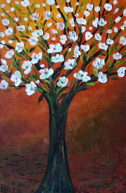 Art: FLOWERING TREE by Artist LUIZA VIZOLI
