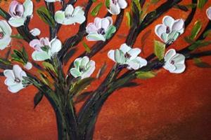 Detail Image for art FLOWERING TREE