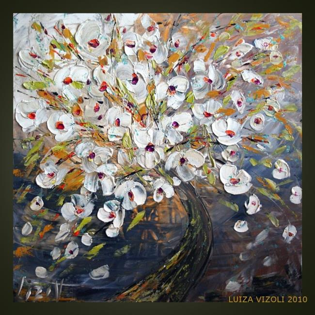 Art: magnolia tree.jpg by Artist LUIZA VIZOLI