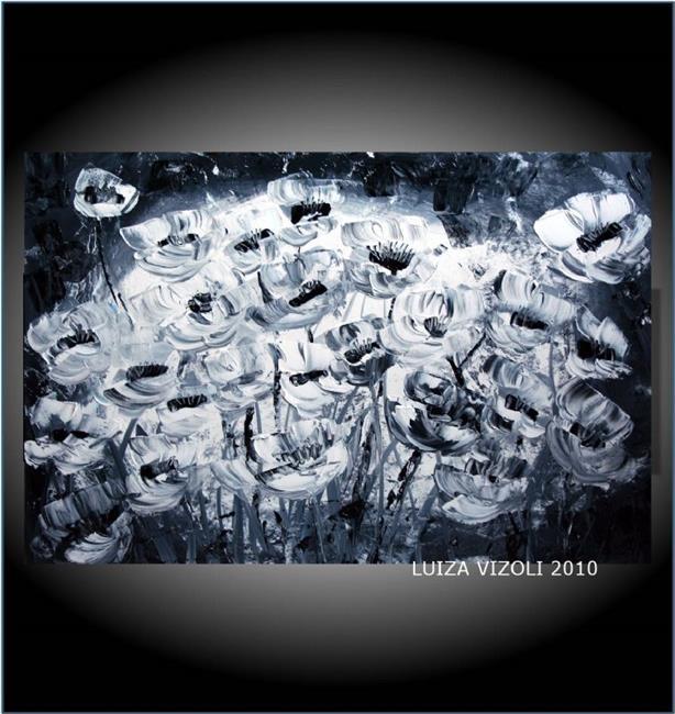 Art: WHITE TULIPS.jpg by Artist LUIZA VIZOLI