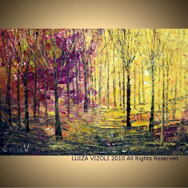 Art: fall.jpg by Artist LUIZA VIZOLI