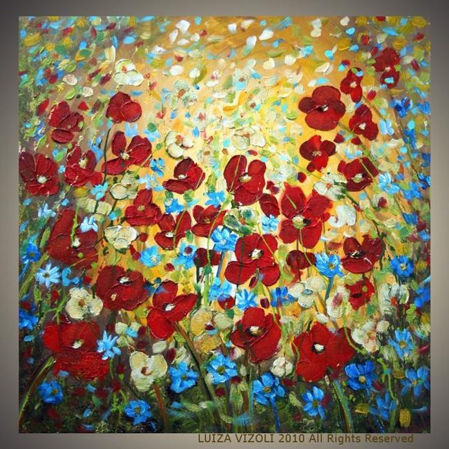 raining flowers  by luiza vizoli from abstract representational, Beautiful flower