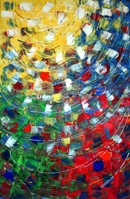 Art: LIGHT DANCE by Artist LUIZA VIZOLI