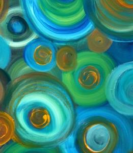Detail Image for art CIRCLES and COLORS