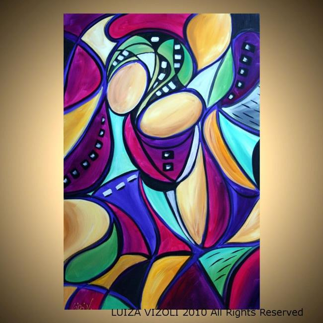Art: IN LOVE by Artist LUIZA VIZOLI