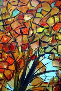 Detail Image for art AUTUMN TREE