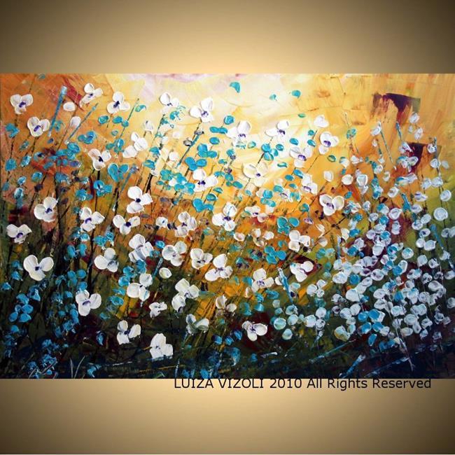Art: wildflowers.jpg by Artist LUIZA VIZOLI