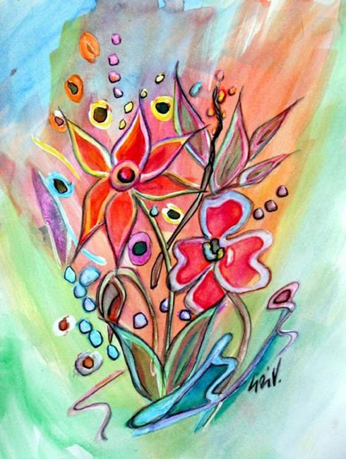 Art: Summer Party by Artist LUIZA VIZOLI