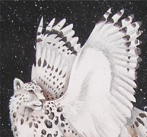 Detail Image for art Snowy Night