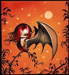 Art: Sweet Demon by Artist Nico Niemi