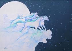 Art: Unicorn Dreams by Artist Nico Niemi