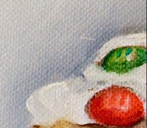Detail Image for art M&M Cupcake