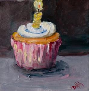 Detail Image for art Birthday Cupcake