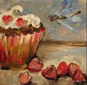 Detail Image for art Valentine Love Cupcake