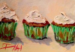 Art: Irish Cupcakes by Artist Delilah Smith
