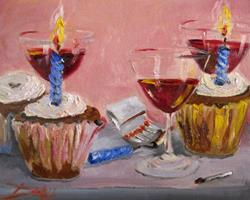 Art: Birthday Party by Artist Delilah Smith