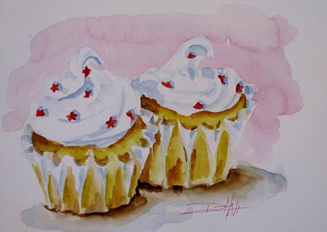 Art: Party Cupcakes by Artist Delilah Smith