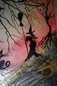 Detail Image for art THE WITCHES-sold