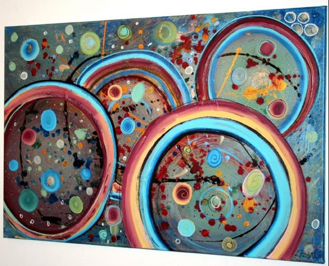 Art: FLYING WORDS by Artist LUIZA VIZOLI