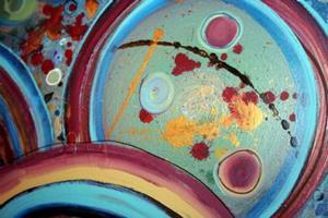 Detail Image for art FLYING WORDS