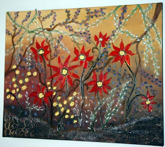 Art: MY GARDEN by Artist LUIZA VIZOLI