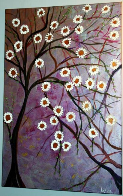 Art: FLOWERS TREE by Artist LUIZA VIZOLI