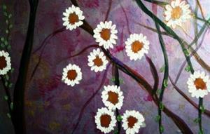 Detail Image for art FLOWERS TREE