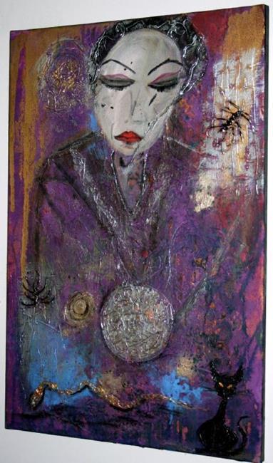 Art: THE WITCH by Artist LUIZA VIZOLI