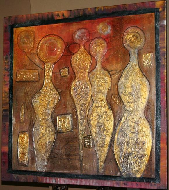 Art: CONFLUENCE by Artist LUIZA VIZOLI