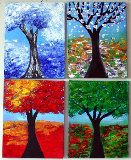 Art: SEASONS-Custom Art-sold by Artist LUIZA VIZOLI