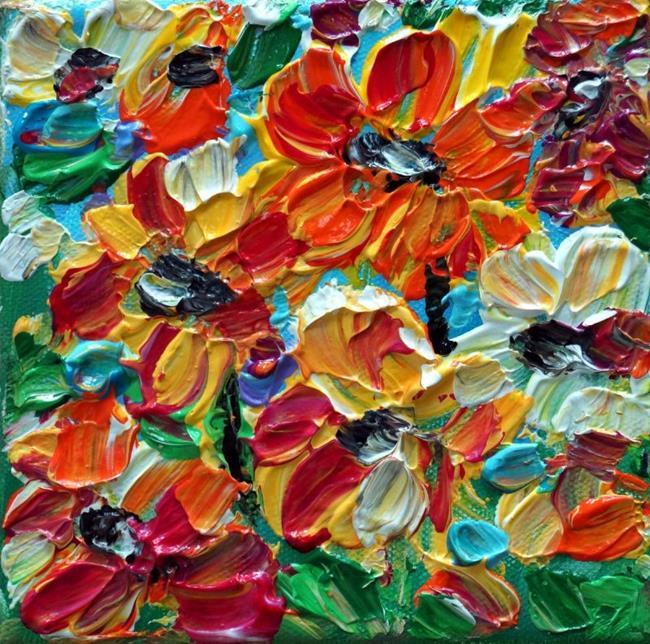 Art: Flowers for You by Artist LUIZA VIZOLI